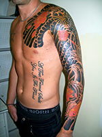 Fish Koi Sea Life Tattoo