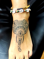 Henna Design Tattoo