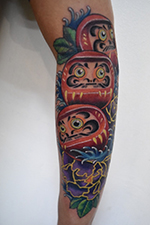 Cartoon Comic Tattoo